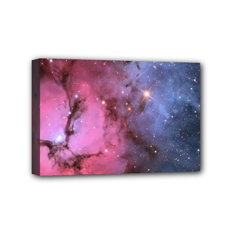 Trifid Nebula Mini Canvas 6  X 4