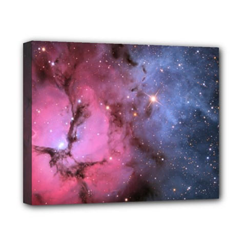 Trifid Nebula Canvas 10  X 8