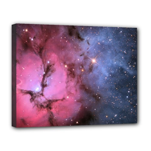 Trifid Nebula Canvas 14  X 11