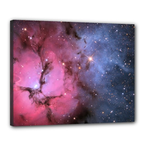 Trifid Nebula Canvas 20  X 16