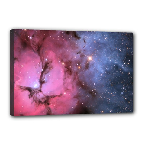 Trifid Nebula Canvas 18  X 12