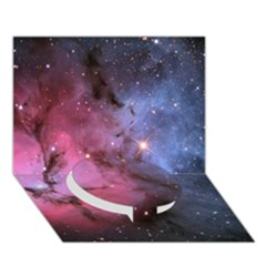 Trifid Nebula Circle Bottom 3d Greeting Card (7x5)