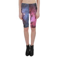 Trifid Nebula Cropped Leggings
