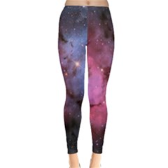 Trifid Nebula Winter Leggings