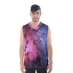 Trifid Nebula Men s Basketball Tank Top