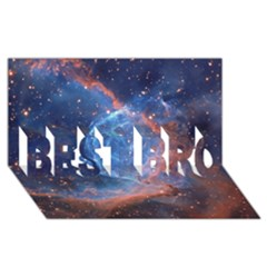 Thor s Helmet Best Bro 3d Greeting Card (8x4)