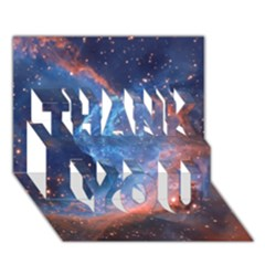Thor s Helmet Thank You 3d Greeting Card (7x5)