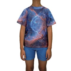 Thor s Helmet Kid s Short Sleeve Swimwear