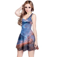 Thor s Helmet Reversible Sleeveless Dresses