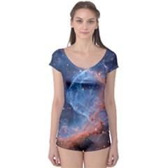 Thor s Helmet Short Sleeve Leotard