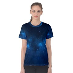Starry Space Women s Cotton Tee