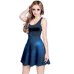 Starry Space Reversible Sleeveless Dresses