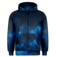 Starry Space Men s Zipper Hoodies