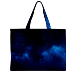 Starry Space Zipper Tiny Tote Bags