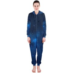 Starry Space Hooded Jumpsuit (ladies)