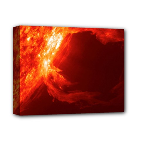 Solar Flare 1 Deluxe Canvas 14  X 11  by trendistuff