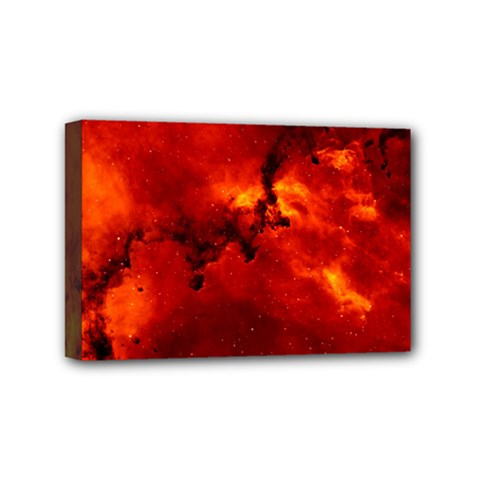 Rosette Nebula 2 Mini Canvas 6  X 4  by trendistuff