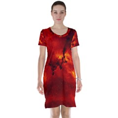 Rosette Nebula 2 Short Sleeve Nightdresses by trendistuff