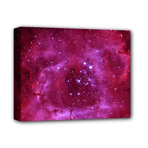 Rosette Nebula 1 Deluxe Canvas 14  X 11  by trendistuff