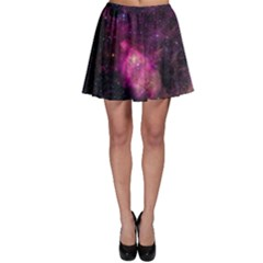 Purple Clouds Skater Skirts
