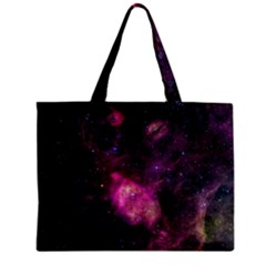 Purple Clouds Zipper Tiny Tote Bags by trendistuff