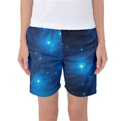 Pleiades Women s Basketball Shorts by trendistuff