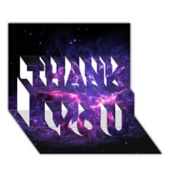Pia17563 Thank You 3d Greeting Card (7x5)  by trendistuff