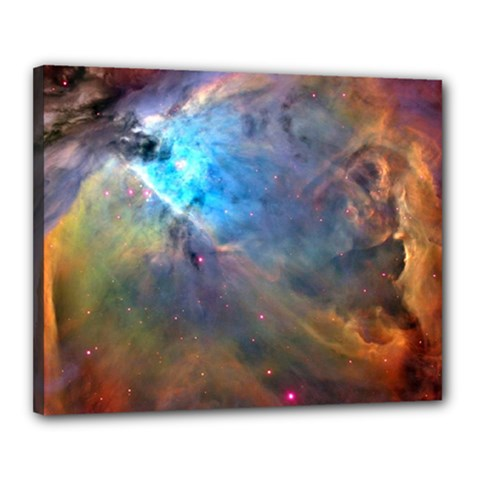 Orion Nebula Canvas 20  X 16  by trendistuff