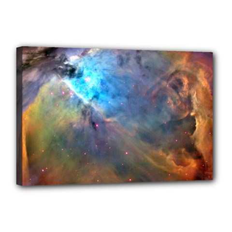 Orion Nebula Canvas 18  X 12  by trendistuff