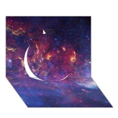 Milky Way Center Circle 3d Greeting Card (7x5)  by trendistuff