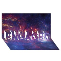 Milky Way Center Engaged 3d Greeting Card (8x4)  by trendistuff