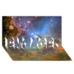 Eagle Nebula Engaged 3d Greeting Card (8x4)  by trendistuff