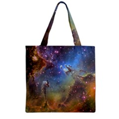 Eagle Nebula Grocery Tote Bags by trendistuff