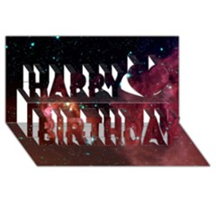 Barnard 30 Happy Birthday 3d Greeting Card (8x4)  by trendistuff