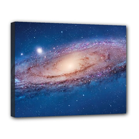 Andromeda Canvas 14  X 11  by trendistuff