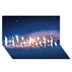 Andromeda Engaged 3d Greeting Card (8x4)  by trendistuff
