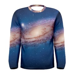 Andromeda Men s Long Sleeve T Shirts by trendistuff