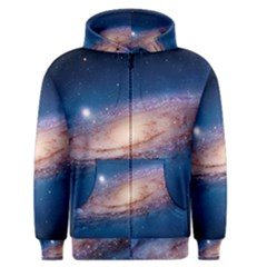 Andromeda Men s Zipper Hoodies by trendistuff