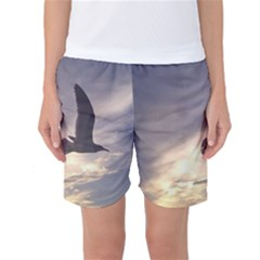Fly Seagull Women s Basketball Shorts