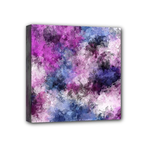 Shabby Floral 2 Mini Canvas 4  X 4  by MoreColorsinLife