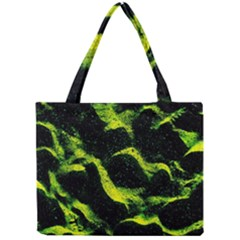 Green Northern Lights Tiny Tote Bags by Costasonlineshop