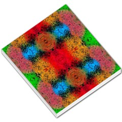 Colorful Goa   Painting Small Memo Pads by Costasonlineshop