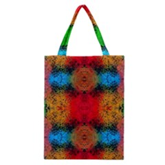 Colorful Goa   Painting Classic Tote Bags by Costasonlineshop