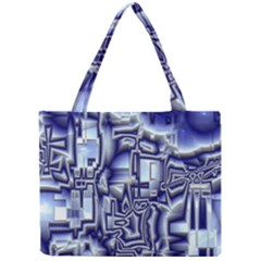 Reflective Illusion 01 Tiny Tote Bags by MoreColorsinLife