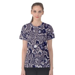 Reflective Illusion 04 Women s Cotton Tee