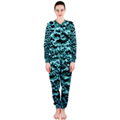 Green Metallic Background, Onepiece Jumpsuit (ladies)  by Costasonlineshop