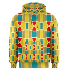 Colorful Chains Pattern Men s Pullover Hoodie by LalyLauraFLM