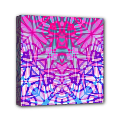 Ethnic Tribal Pattern G327 Mini Canvas 6  X 6  by MedusArt