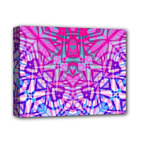Ethnic Tribal Pattern G327 Deluxe Canvas 14  X 11  by MedusArt