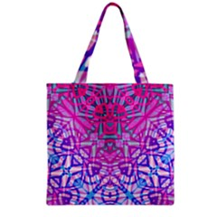 Ethnic Tribal Pattern G327 Grocery Tote Bags by MedusArt